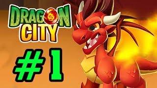Dragon City - NÔNG TRẠI RỒNG - Lai Giống Tạo Ra 1 Em Falame Rock Dragon Tập 1