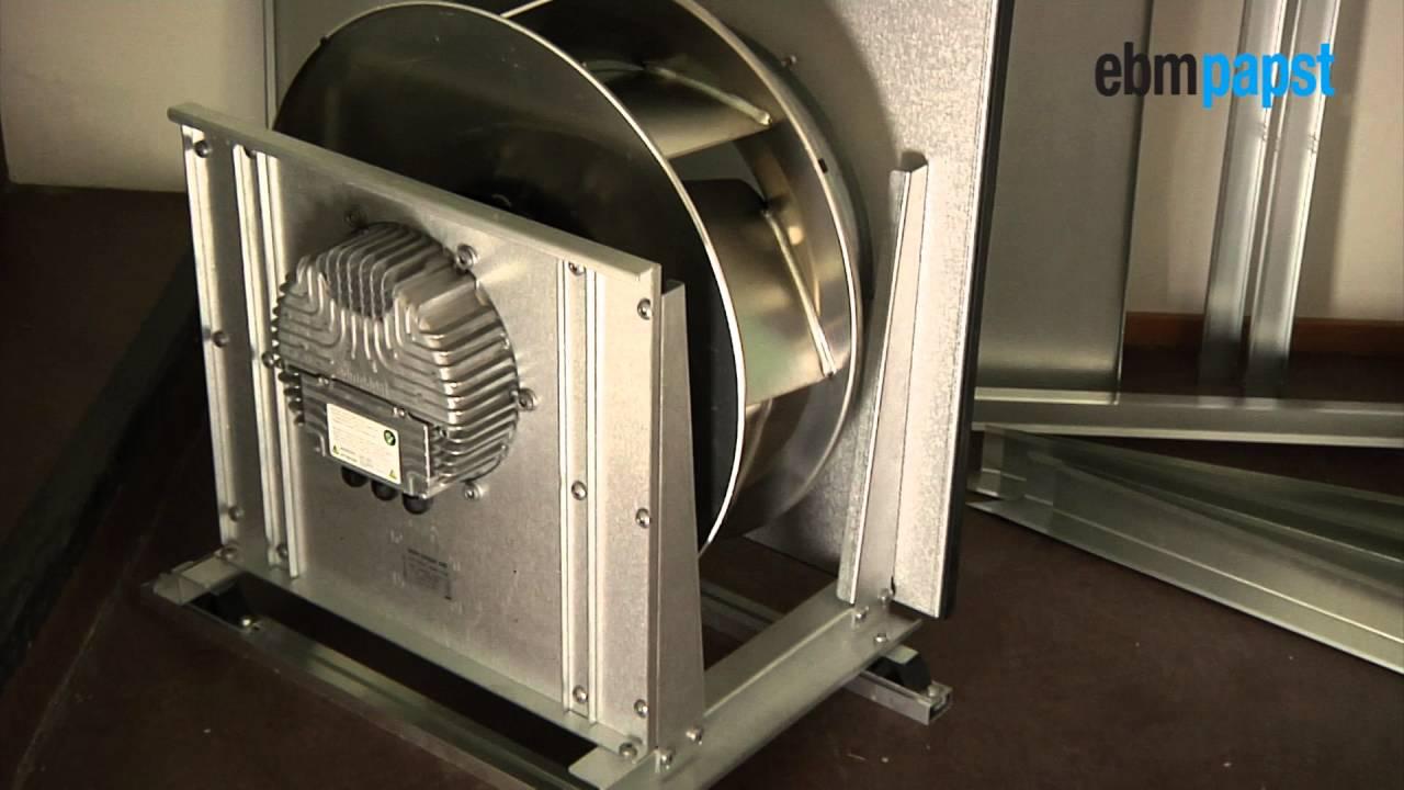 Kök köksfläkt installation : Installation av kammarfläkt i ventilationsaggregat - YouTube