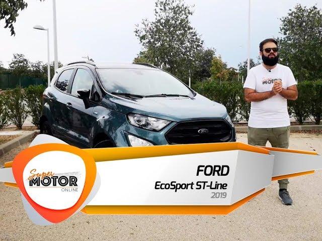 Ford EcoSport ST-Line 2019 🏔️/ Al volante / Review / Supermotoronline.com