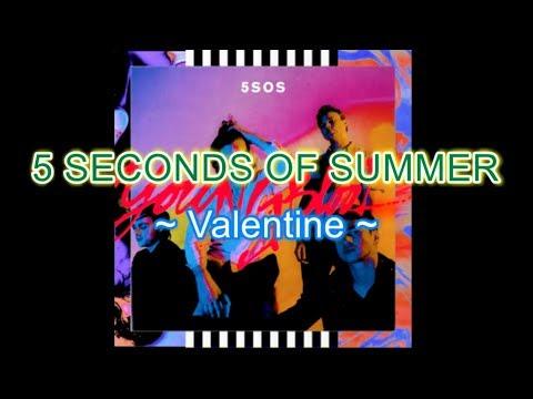 5sos - Valentine Instrumental Karaoke with backing vocals (Album: Youngblood)