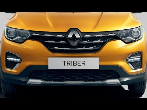 2020 Renault Triber Seven Seat SUV Exclusively For India