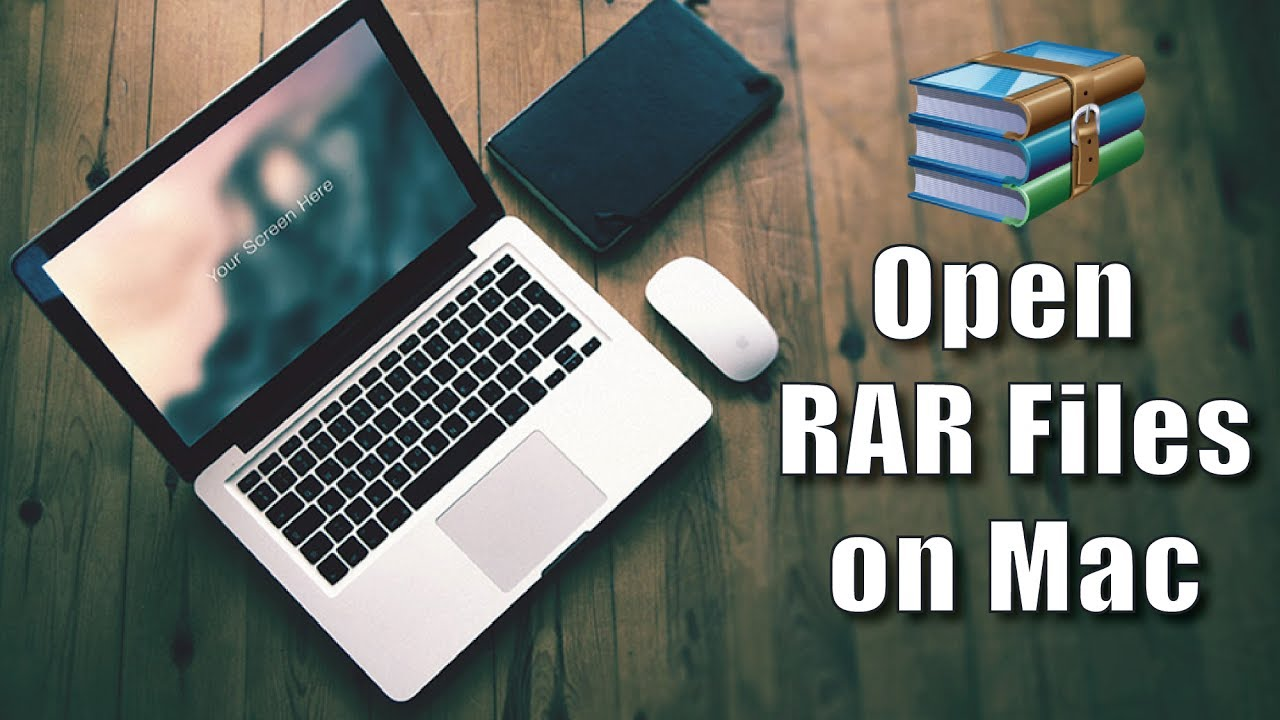 what do you open rar files with on mac