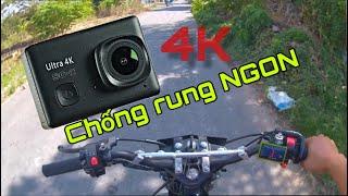 Camera Hành Trình Giá Rẻ  Quay 4K SC-2 Chống Rung NGON -Action Camera 4K