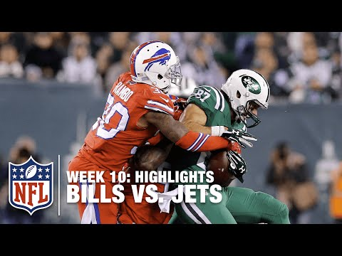 Bills Vs. Jets   Week 10 Highlights   NFL