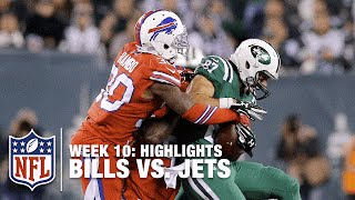 Bills vs. Jets | Week 10 Highlights | NFL