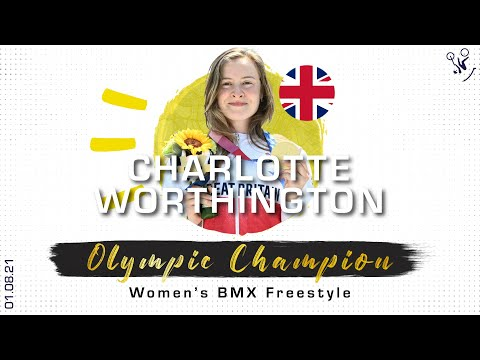 Charlotte Worthington becomes