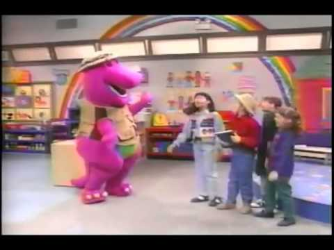 Barney comes to life (Camera Safari) (episode) (Clip)
