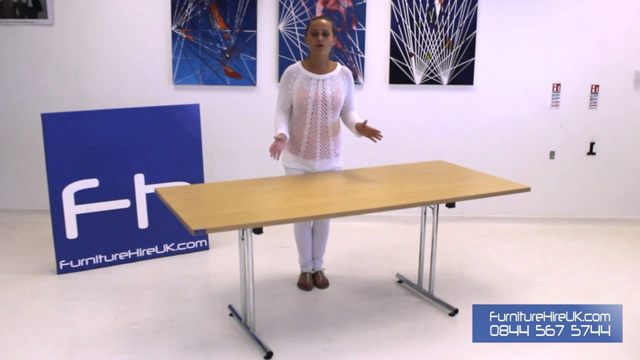 Modular Rectangular Table (1800mm) Demo - Furniture Hire UK