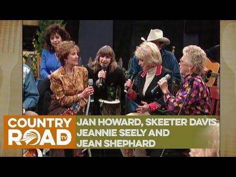 Jan Howard, Skeeter Davis, Jeannie Seely and Jean Shephard