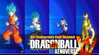 dragon ball xenoverse cel shading mod updated for dlc 3