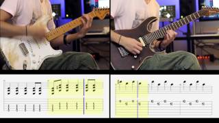 Simple Plan Your Love Is A Lie Dual Guitar Cover TAB.mp3