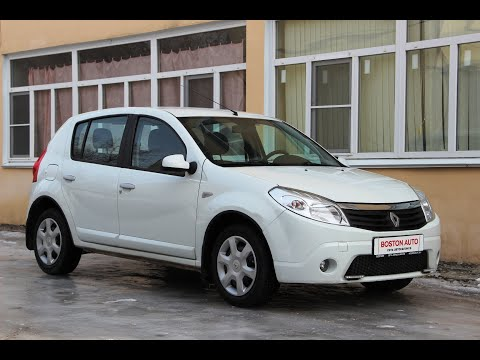 Renault Sandero, 2012, 1.6 (103 л.с.) АТ, Обзор Автосалон Boston от Сергея Бабинова