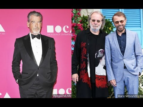 Pierce Brosnan Was Nervous to Sing In Front of ABBA During Table Read for 'Mamma Mia!' Sequel