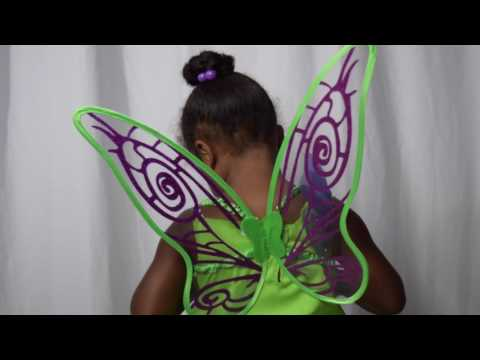 Tinkerbell Fairy Costume (Tinkerbell, Disney, Costume Video, KIDS)