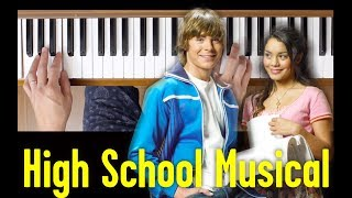 Bop To The Top (High School Musical) [Easy Piano Tutorial]