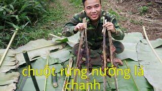 Đồng Con TV | Chuột Rừng Nướng Lá Chanh | Ẩm Thực Tây Bắc
