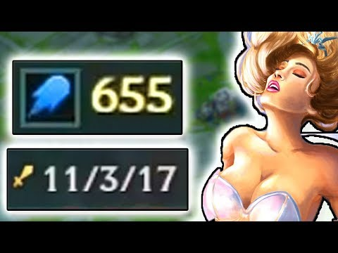600+ AP JANNA SUPPORT CARRY IN MASTER / CHALLENGER ELO? WHAT HAPPENED THIS GAME??