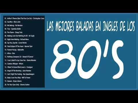 Las Mejores Baladas en Ingles de los 80 Mix Romanticas Viejitas en Ingles 80's