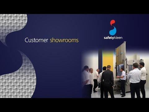 Safetykleen customer showroom (Paris)