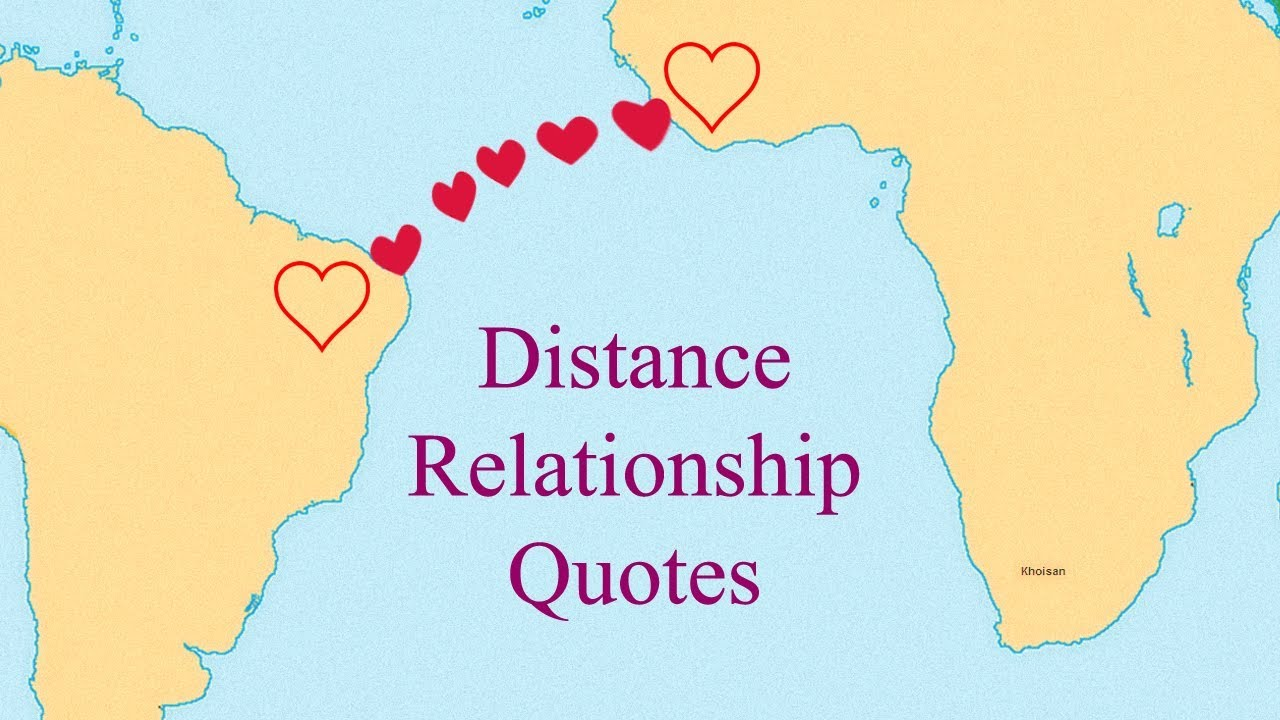 Distance Doesnt Matter When Love Is True Relationship Quotes