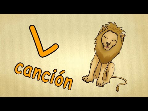 abc español cancion | La letra L Cancion | canciones infantiles