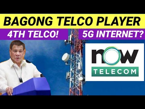 NOW TELECOM  /  4TH TELCO IN THE PHILIPPINES