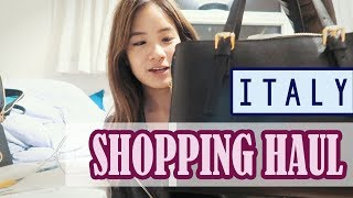 Last Day in Italy | Shopping Haul