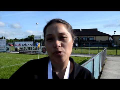InTouch Connacht TV Interview 7S in the city organiser Mele Kiripati
