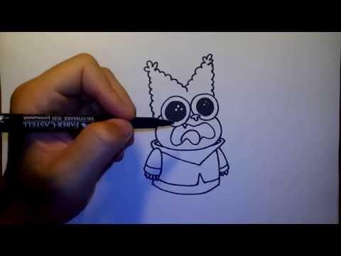 วาดการ์ตูน กันเถอะ สอนวาดรูป การ์ตูน ชาวเดอร์ Chowder
