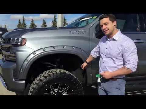 2019 Custom Lifted Chevrolet Silverado High Country 6.2L ...