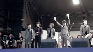 2011年フラワーフェスティバルのライブバトルにて、 AllcockHarismanが...