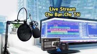 Cho Bạn Cho Tôi - Sound Card XOX K10, Micro Thu Âm BM 800, Dây Live Stream