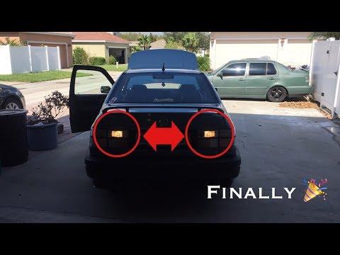 I have reverse lights!!