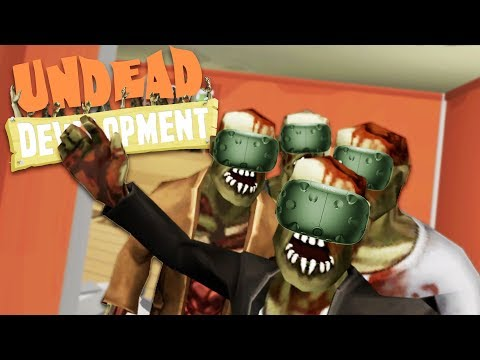 Epic Base Building and Zombie Horde Defense! - Undead Development VR Gameplay - HTC Vive VR