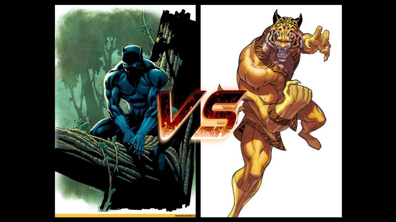 OPINION SPOT#80-Black Panther vs Bronze Tiger - YouTube - photo#8