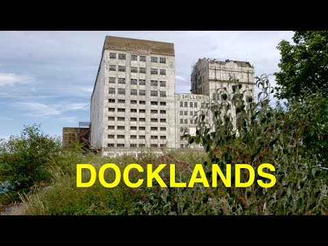 Exploring London's Royal Docks (4K)