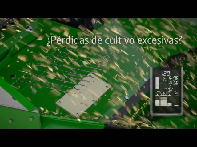 John Deere - Series W/T - Ajuste interactivo de la cosechadora