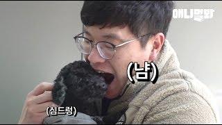 푸들이 깨물어주고 싶을 정도로 귀엽다고 진짜 깨무는 남자. 남자는 수의사다.ㅣSecret Of A Large Animal Vet And A Poodle Dog