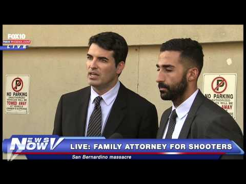 FNN: Extremely bizarre press conference Farook Family Attorneys