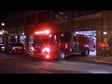 2ff5ffc510a North Hudson Regional Fire   Rescue BRAND NEW Squad 1 Responding