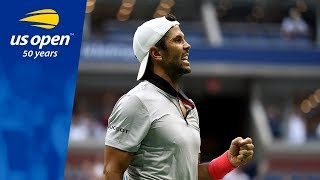 Fernando Verdasco Takes Down 2012 US Open Champion Andy Murray