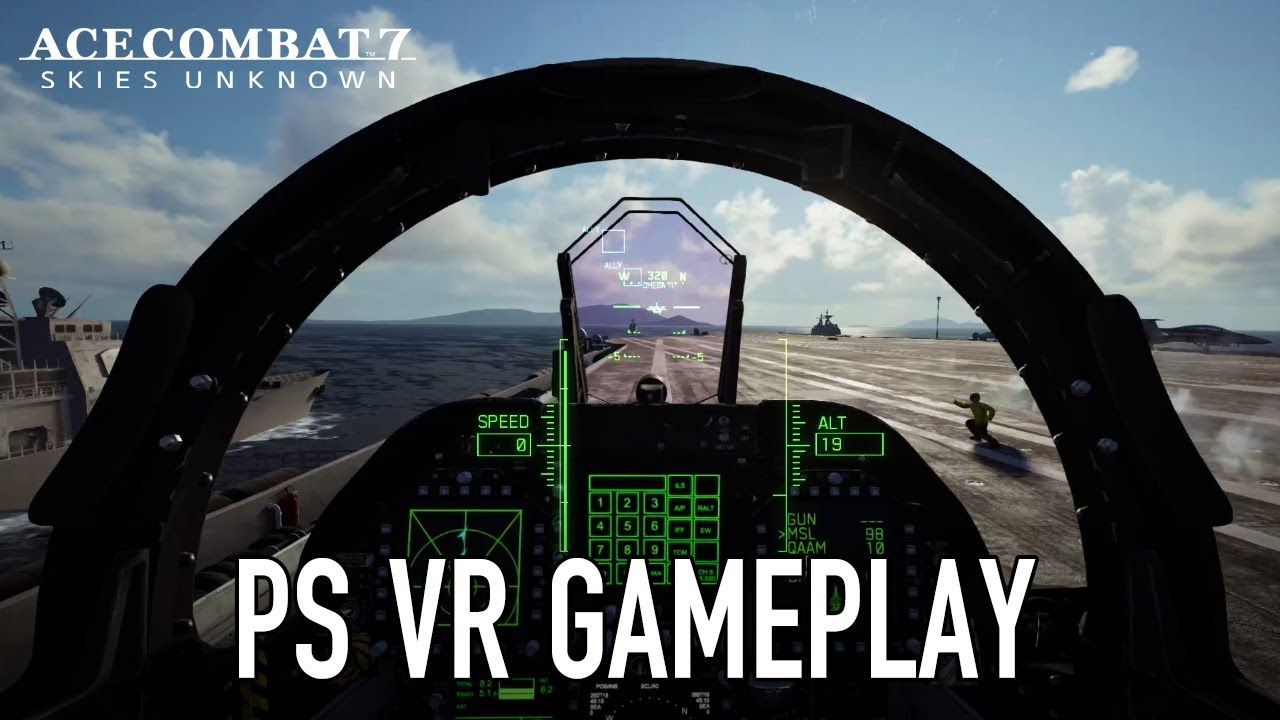 Ace Combat 7 Skies Unknown Ps4 Vr Gameplay Trailer Youtube