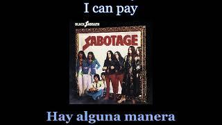 Black Sabbath - Megalomania - 04 - Lyrics / Subtitulos en español (Nwobhm) Traducida