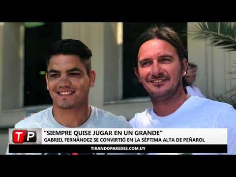 """Gabriel Fernández: """"Siempre quise jugar en un grande"""""""