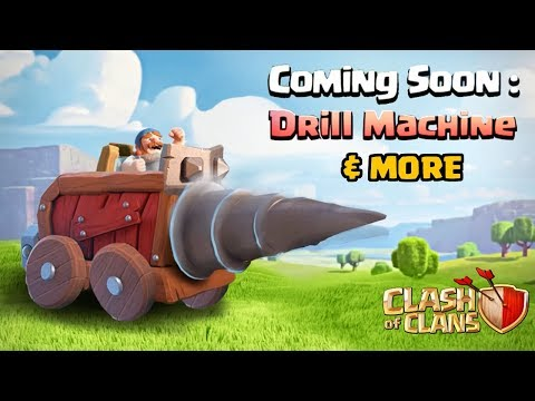 3rd Siege Machine, Custom Game Music, New Troop Icons! (New Update Concepts) | Clash of Clans
