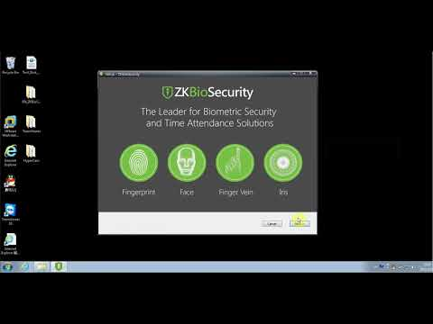 Installing ZKBioSecurity3 0