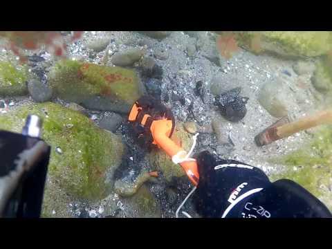 Подводен металотърсач scuba tector - до 60 метра под вода - .