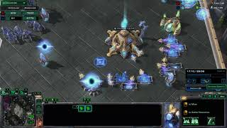 StarCraft II (PvZ) P#17 - Surviving an all in Nydus Rush!
