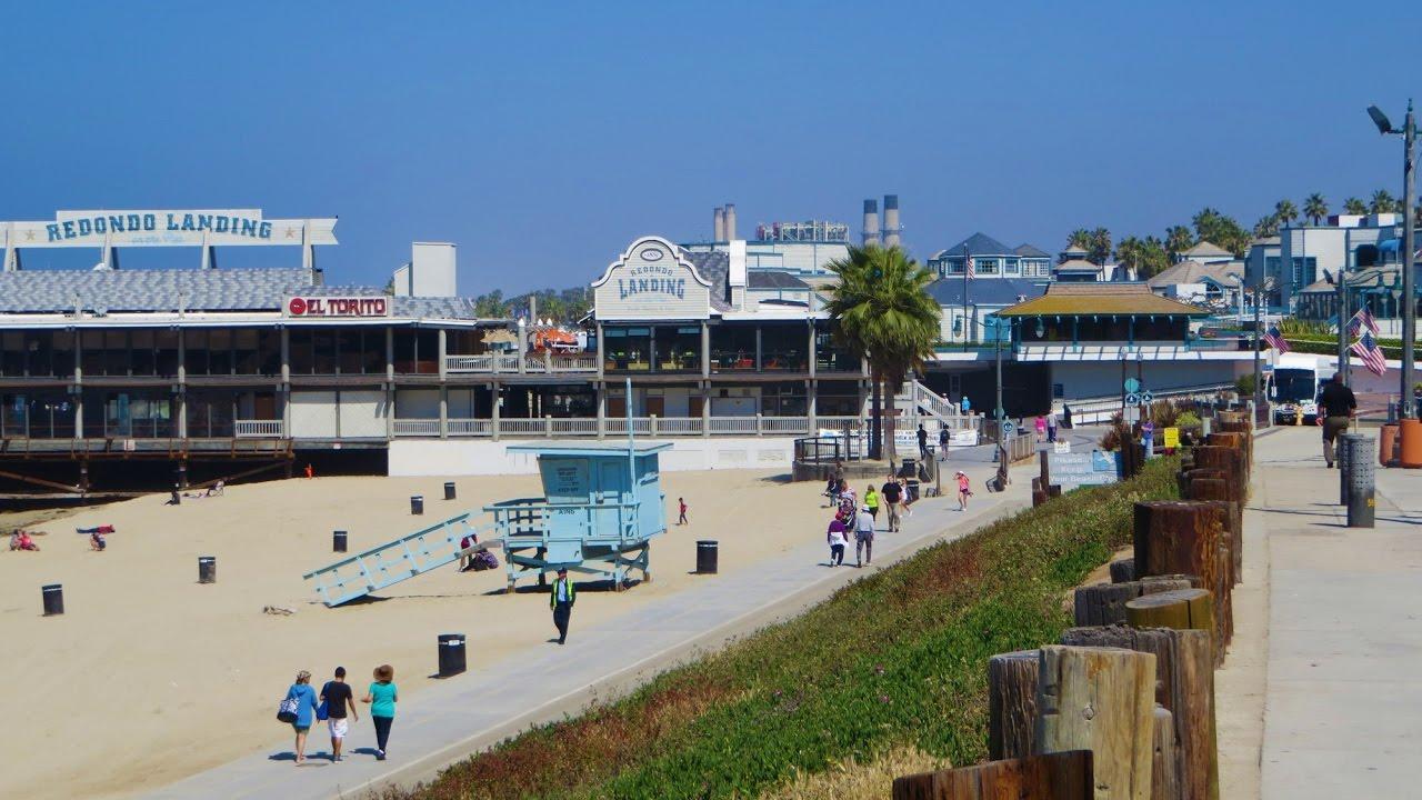 Redondo Beach Ca Boardwalk Veterans Memorial Park Pier
