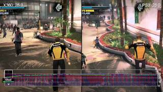 Dead Rising 2 PS3 vs. Xbox 360 Frame-Rate Analysis